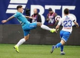 Photo report from Zenit v Dynamo Moscow