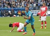 Kanunnikov scores first goal at Petrovsky Stadium in the Russian Premier League