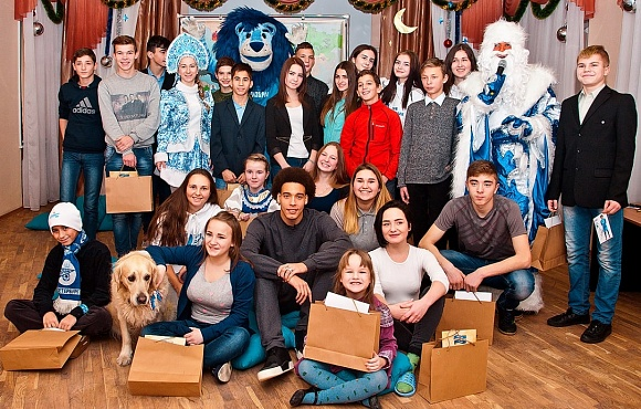 Club Good Deeds: Axel Witsel opened the annual Christmas event at orphanage №3