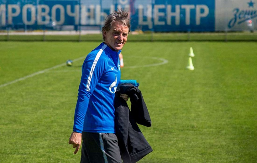 Zenit and Roberto Mancini agree to an early end to the manager's contract