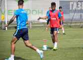 Open training before the clash with Krasnodar this Thursday