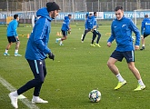 Open training this Thursday before the match with Rostov