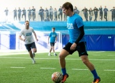 Highlights of the Zenit legends v Gazprom Academy trainers match