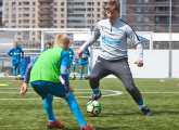 Andrei Arshavin took training for competition winners