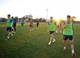 Photos of Zenit U19s 5 February evening training