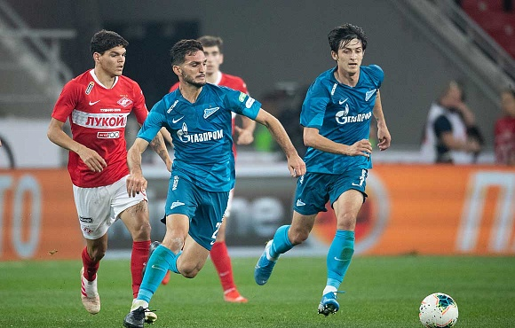 Spartak V Zenit: Record TV audience for the game