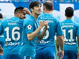 Zenit v Yenisei: Azmoun and Dzyuba start the game