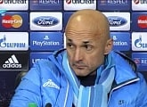 Luciano Spalletti`s press conference after playing Atletico
