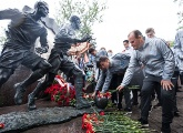 The club remembers those who played in the match in besieged Leningrad