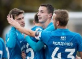 Photos from the Under 19s game between Zenit and Krasnodar