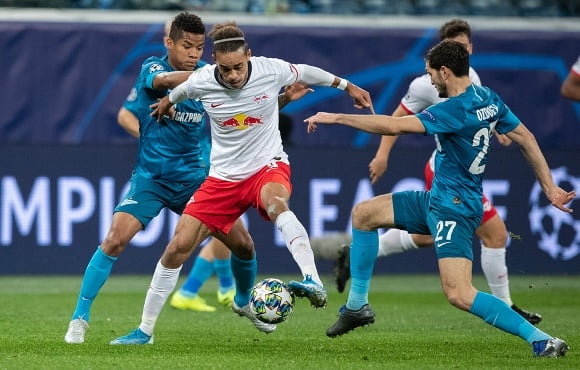 Zenit go down at home to RB Leipzig