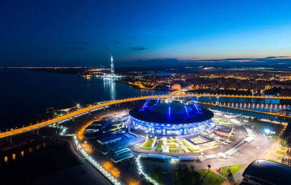 Stadium St. Petersburg in the running to host the 2021 UEFA Champions League final