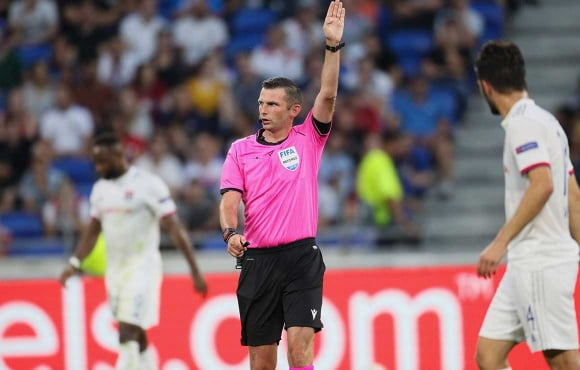 English referee appointed for Lazio v Zenit in the UCL