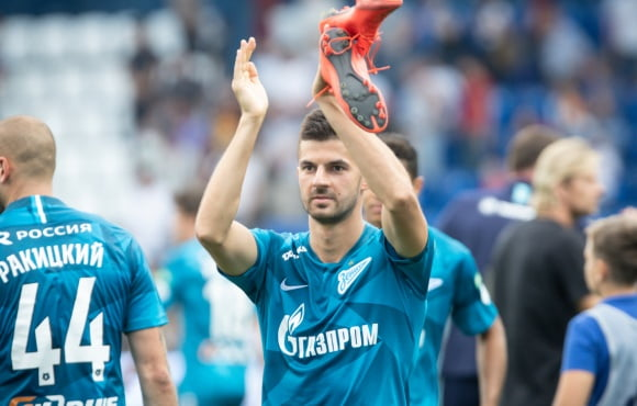 Denis Terentyev extends his Zenit contract and agrees a loan deal with Ufa