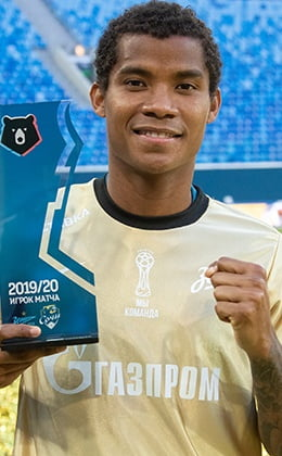 "Wilmar Barrios: ""I've significantly improved as a player since I moved to Zenit"""