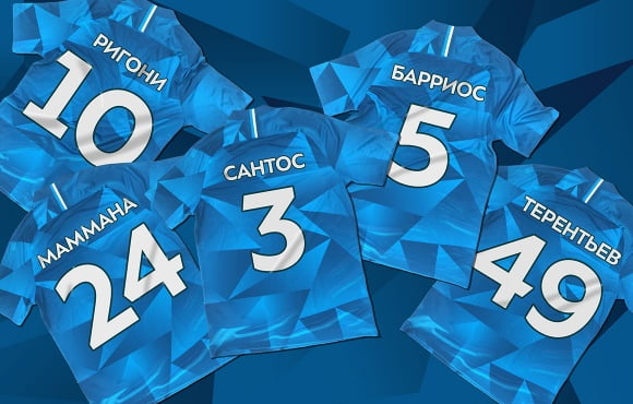 New squad numbers assigned for the new season